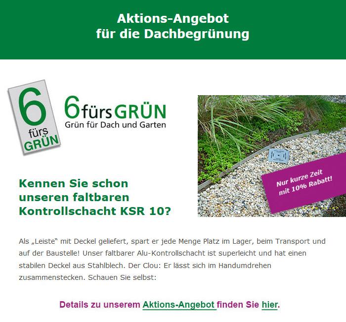 Aktion August 2017 Start